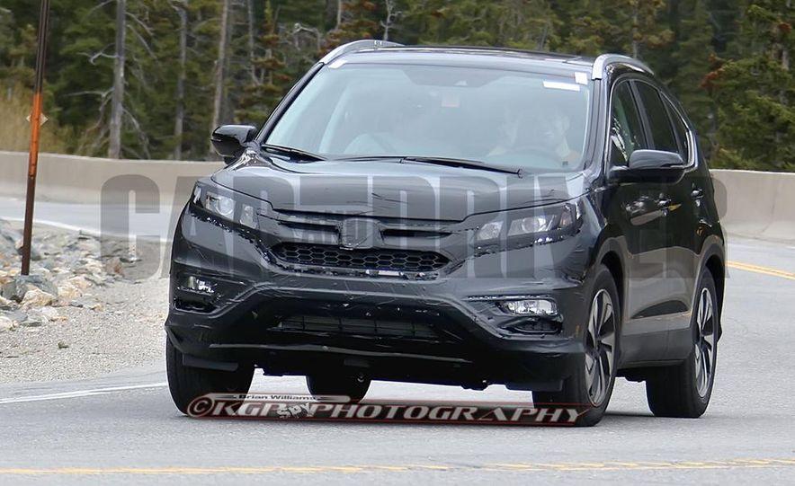 2015 Honda CR-V (spy photo) - Slide 2