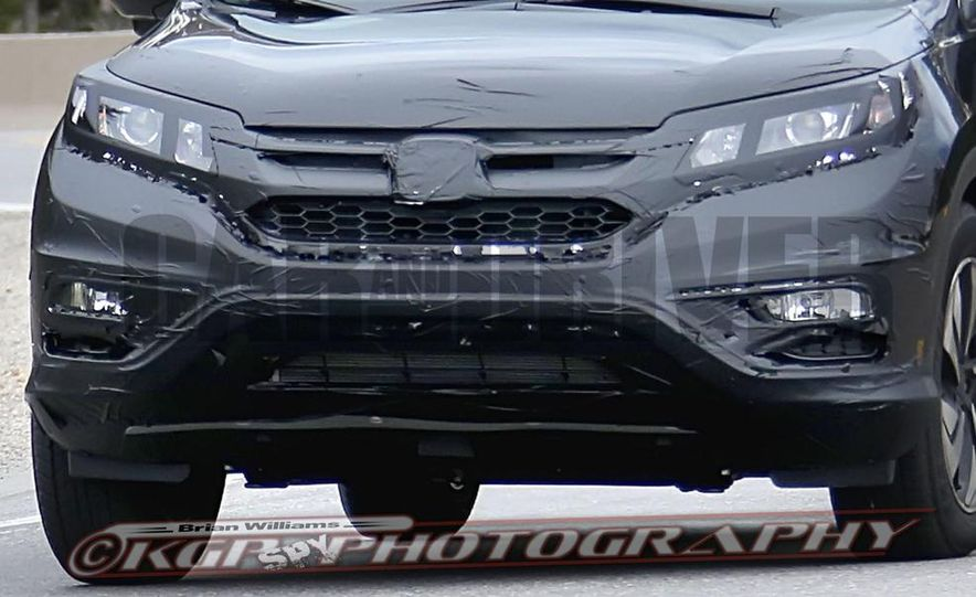 2015 Honda CR-V (spy photo) - Slide 11