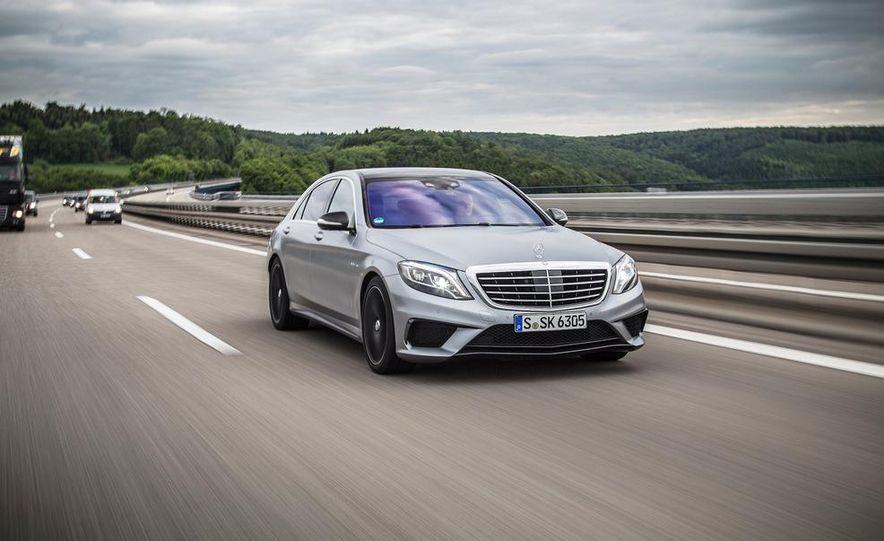 2014 Mercedes-Benz S63 AMG 4MATIC - Slide 1