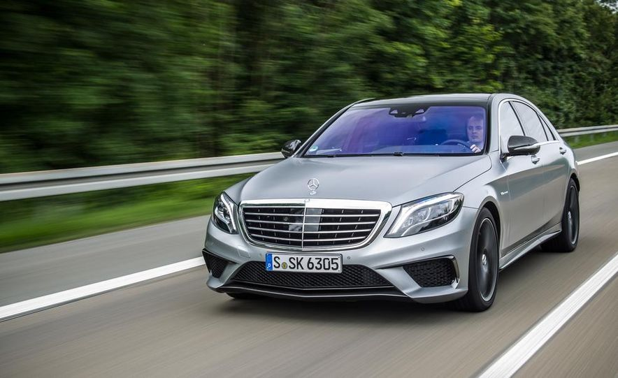 2014 Mercedes-Benz S63 AMG 4MATIC - Slide 4