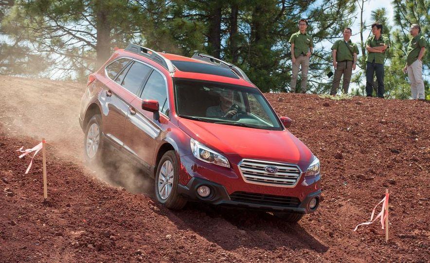 2015 Subaru Outbacks - Slide 49