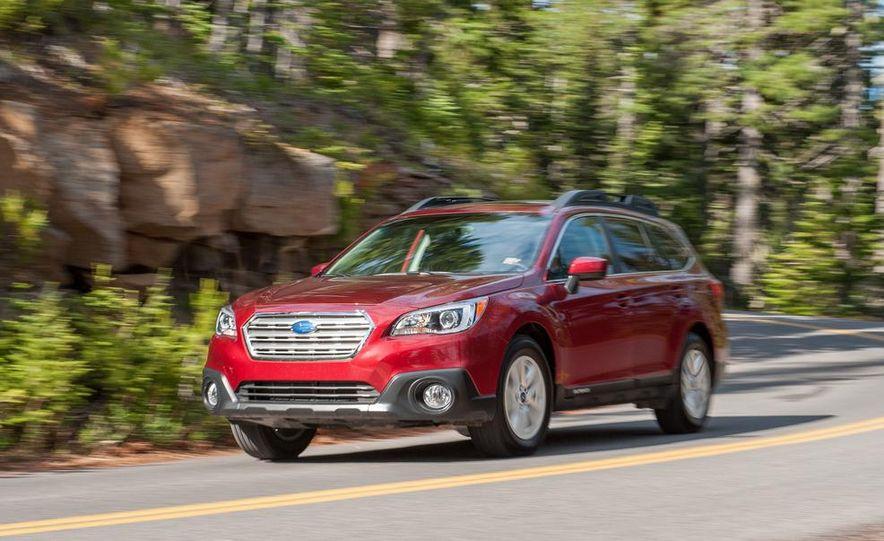 2015 Subaru Outbacks - Slide 50