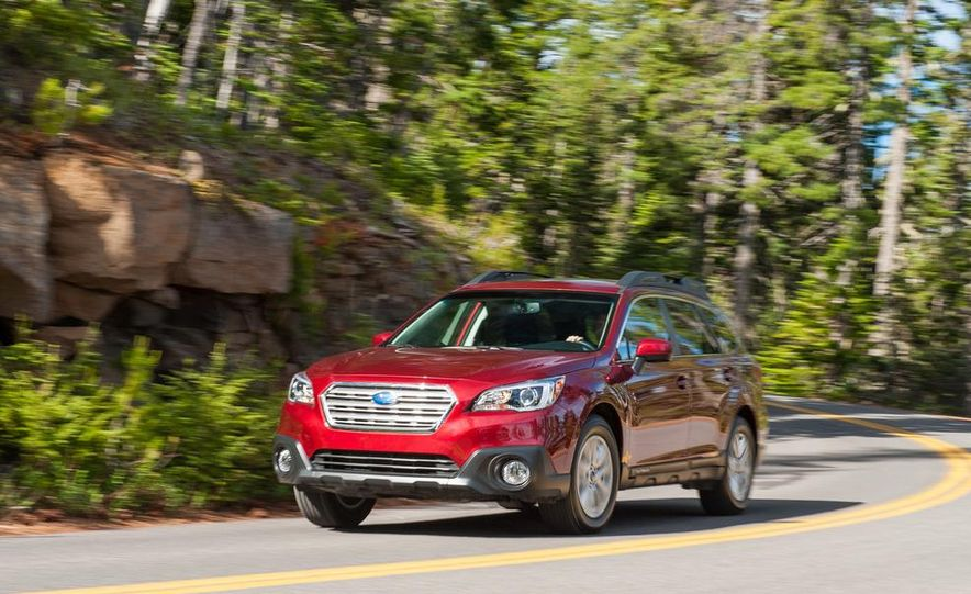 2015 Subaru Outbacks - Slide 51
