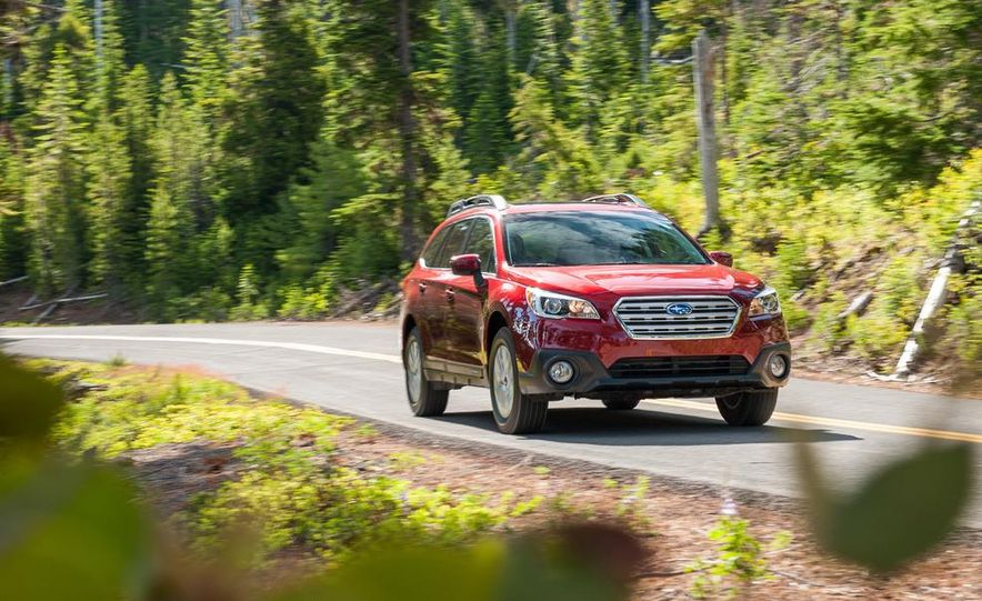 2015 Subaru Outbacks - Slide 52