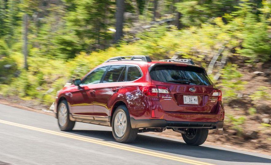 2015 Subaru Outbacks - Slide 53