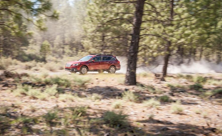 2015 Subaru Outbacks - Slide 55
