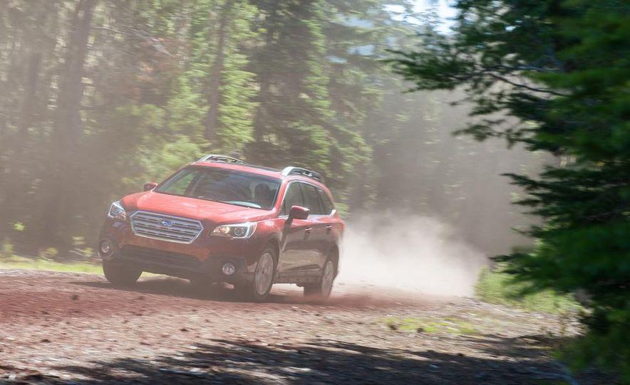 2015 Subaru Outbacks - Slide 56