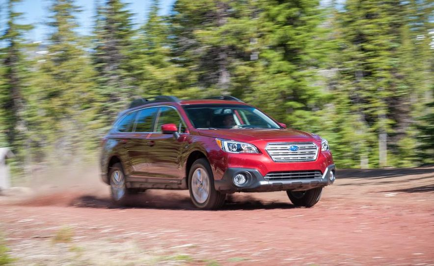 2015 Subaru Outbacks - Slide 60