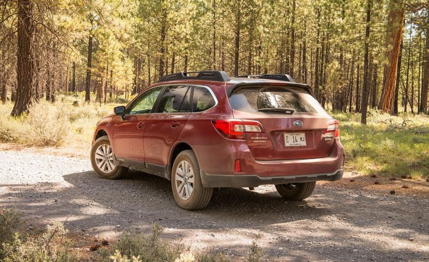 2015 Subaru Outbacks - Slide 66