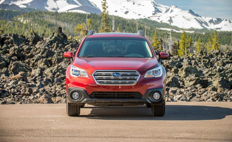 2015 Subaru Outbacks - Slide 70
