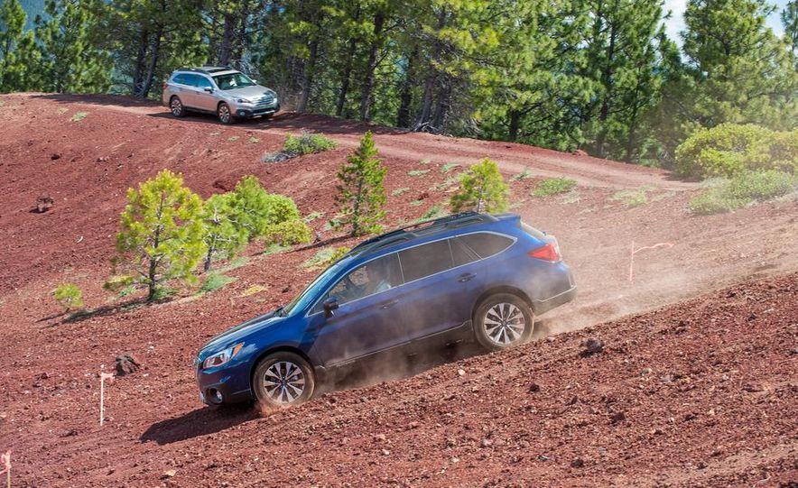 2015 Subaru Outbacks - Slide 92