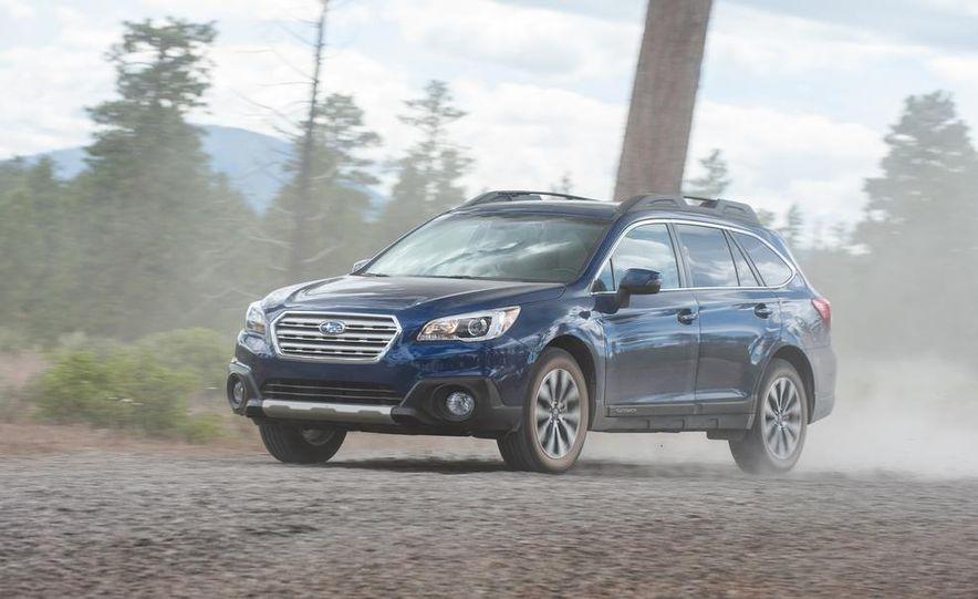 2015 Subaru Outbacks - Slide 94