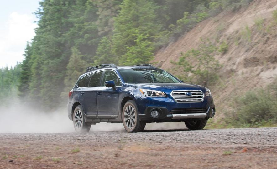 2015 Subaru Outbacks - Slide 95