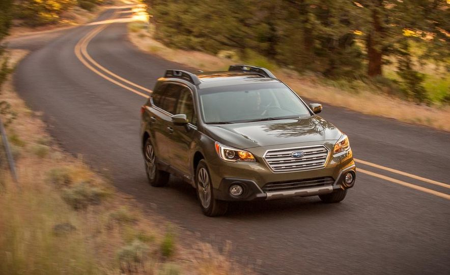2015 Subaru Outbacks - Slide 7