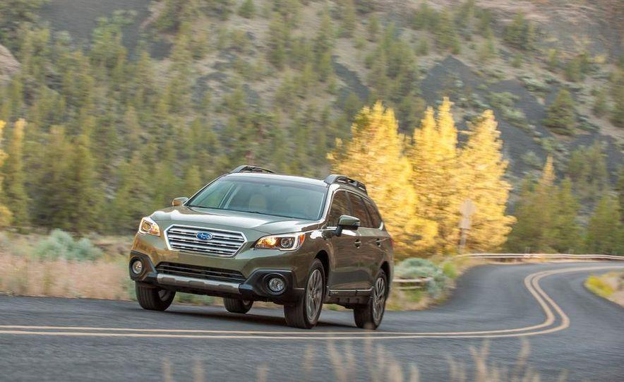 2015 Subaru Outbacks - Slide 8