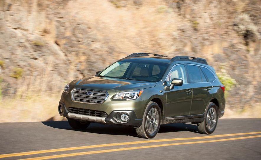 2015 Subaru Outbacks - Slide 10