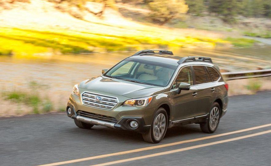 2015 Subaru Outbacks - Slide 11