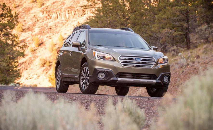 2015 Subaru Outbacks - Slide 15