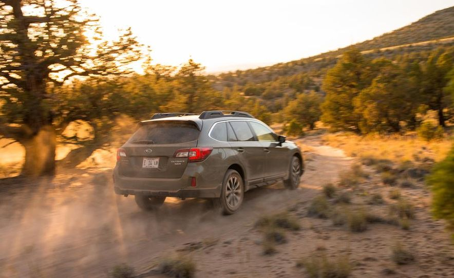 2015 Subaru Outbacks - Slide 17
