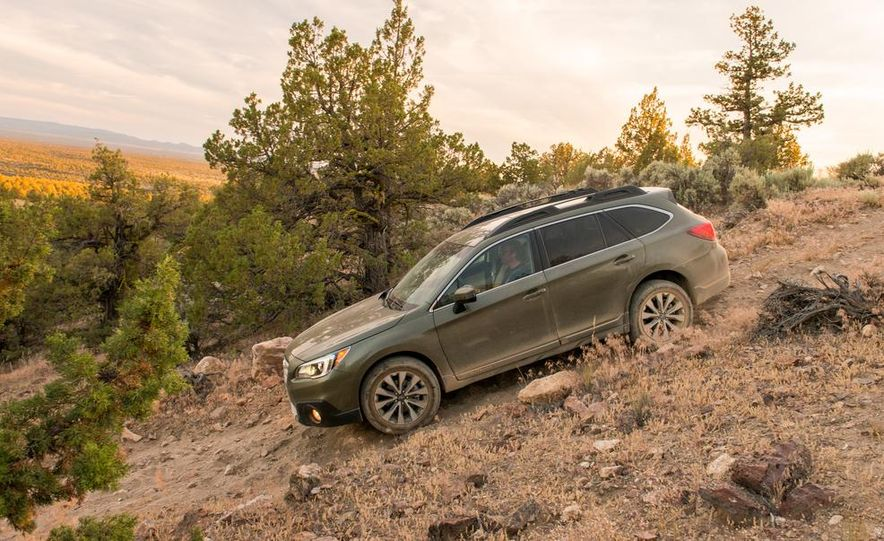 2015 Subaru Outbacks - Slide 18