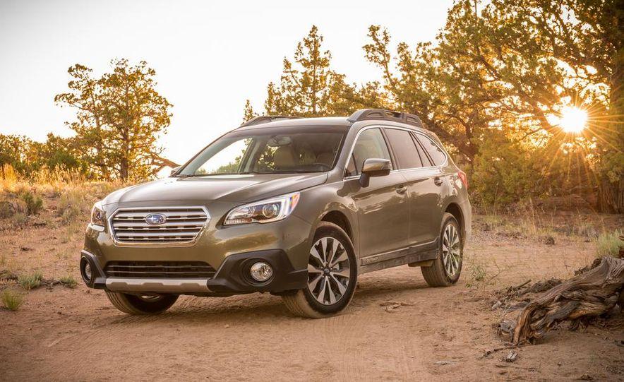 2015 Subaru Outbacks - Slide 20