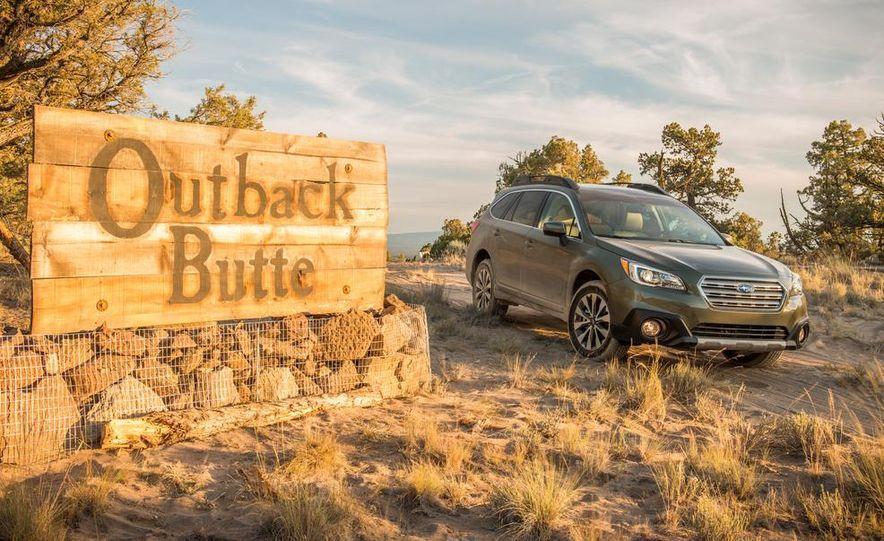 2015 Subaru Outbacks - Slide 22