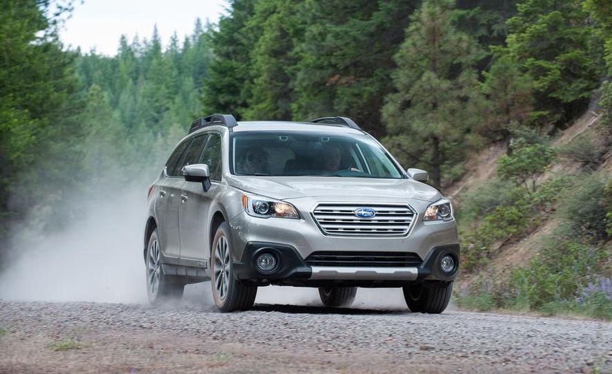 2015 Subaru Outbacks - Slide 46
