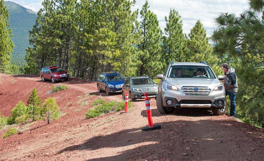 2015 Subaru Outbacks - Slide 3