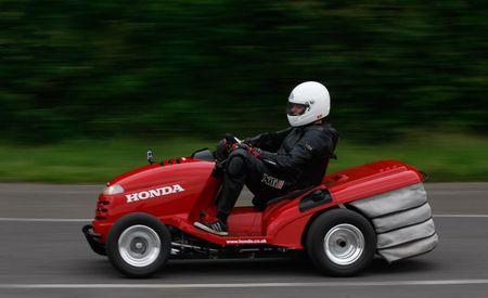 Honda Mean Mower: A 109-hp, 130-mph Lawn Tractor
