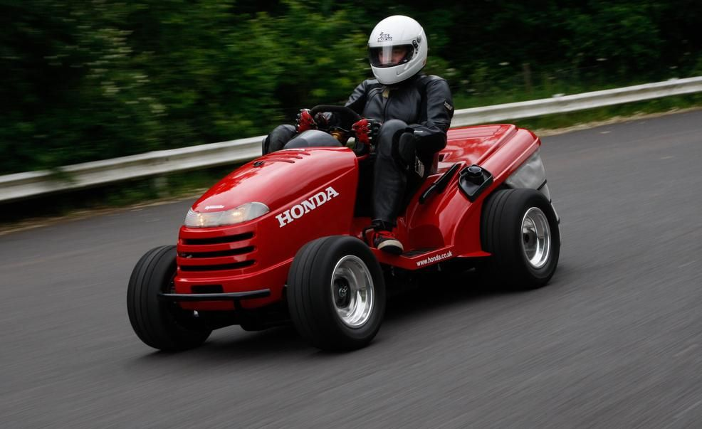 Honda Mean Mower A 109 Hp 130 Mph Lawn Tractor