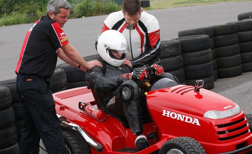Honda Mean Mower - Slide 9