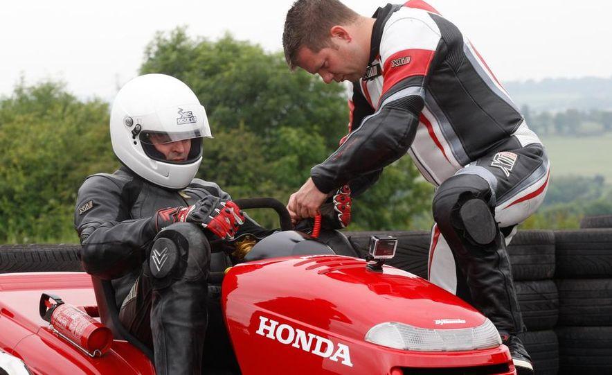 Honda Mean Mower - Slide 10
