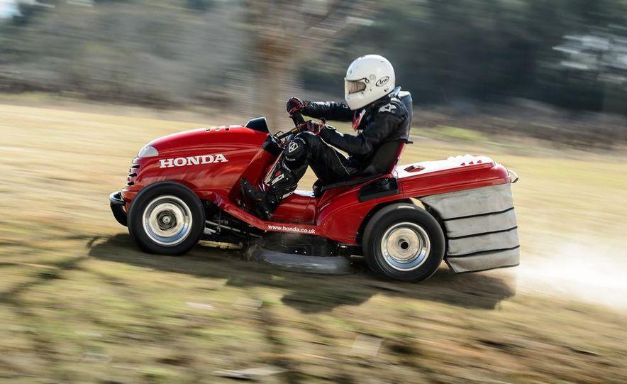 Honda Mean Mower - Slide 19