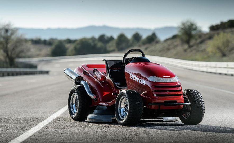 Honda Mean Mower - Slide 22