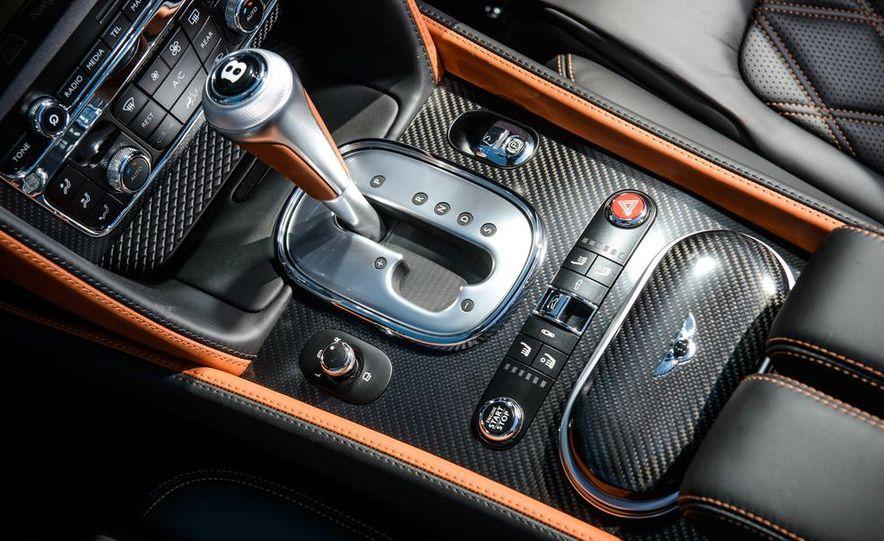 2015 Bentley Continental GT Speeds - Slide 42
