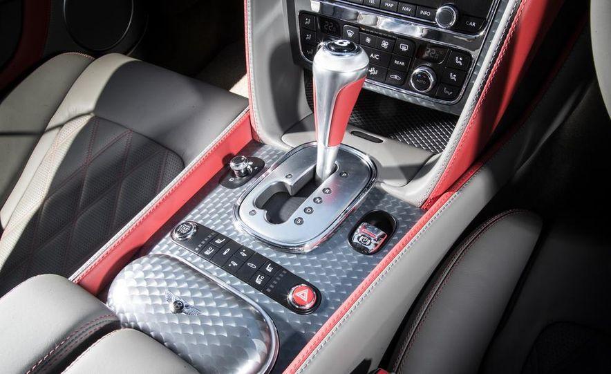 2015 Bentley Continental GT Speeds - Slide 16