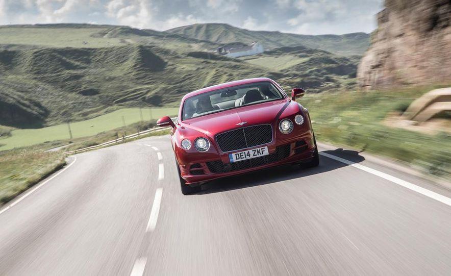 2015 Bentley Continental GT Speeds - Slide 8