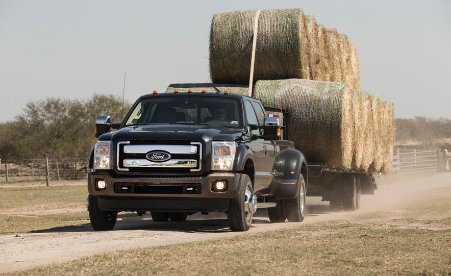 2015 Ford F-series Super Duty King Ranch - Slide 1
