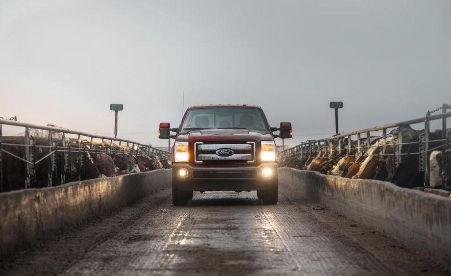 2015 Ford F-series Super Duty King Ranch - Slide 3