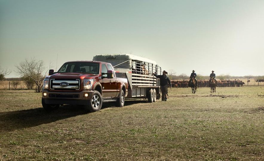 2015 Ford F-series Super Duty King Ranch - Slide 4