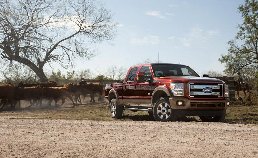 2015 Ford F-series Super Duty King Ranch - Slide 5