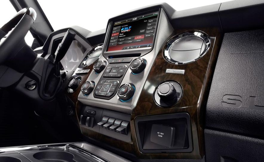 2015 Ford F-series Super Duty King Ranch - Slide 20