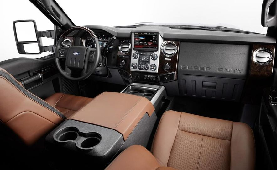 2015 Ford F-series Super Duty King Ranch - Slide 21