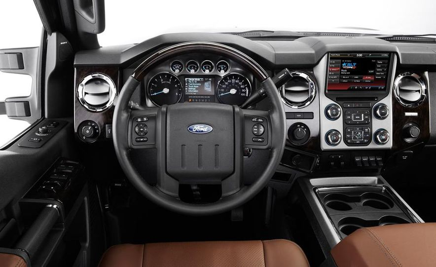 2015 Ford F-series Super Duty King Ranch - Slide 22
