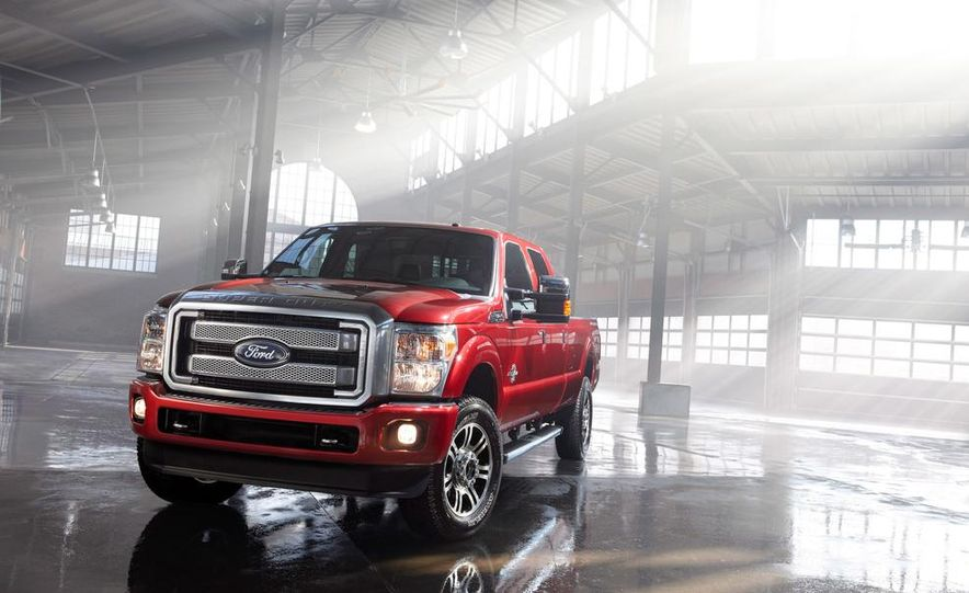 2015 Ford F-series Super Duty King Ranch - Slide 7