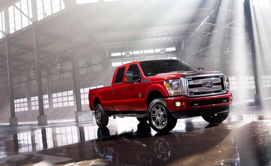 2015 Ford F-series Super Duty King Ranch - Slide 8