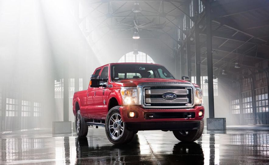 2015 Ford F-series Super Duty King Ranch - Slide 9
