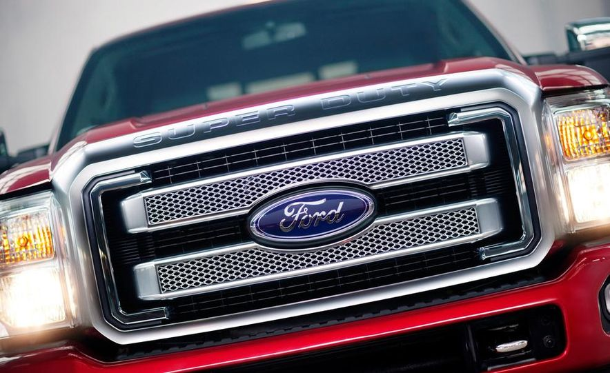 2015 Ford F-series Super Duty King Ranch - Slide 13