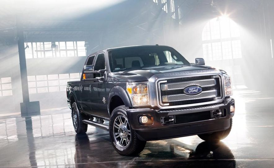 2015 Ford F-series Super Duty King Ranch - Slide 15