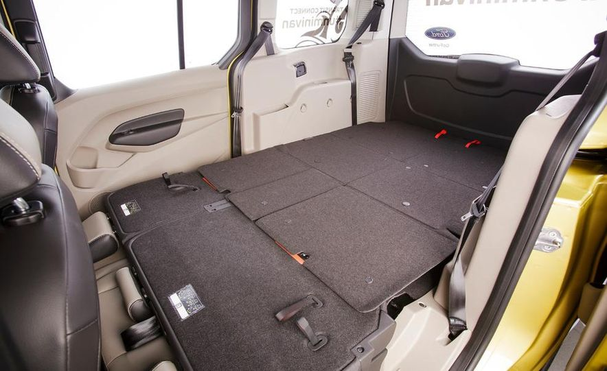 2014 Ford Transit Connect wagon - Slide 34